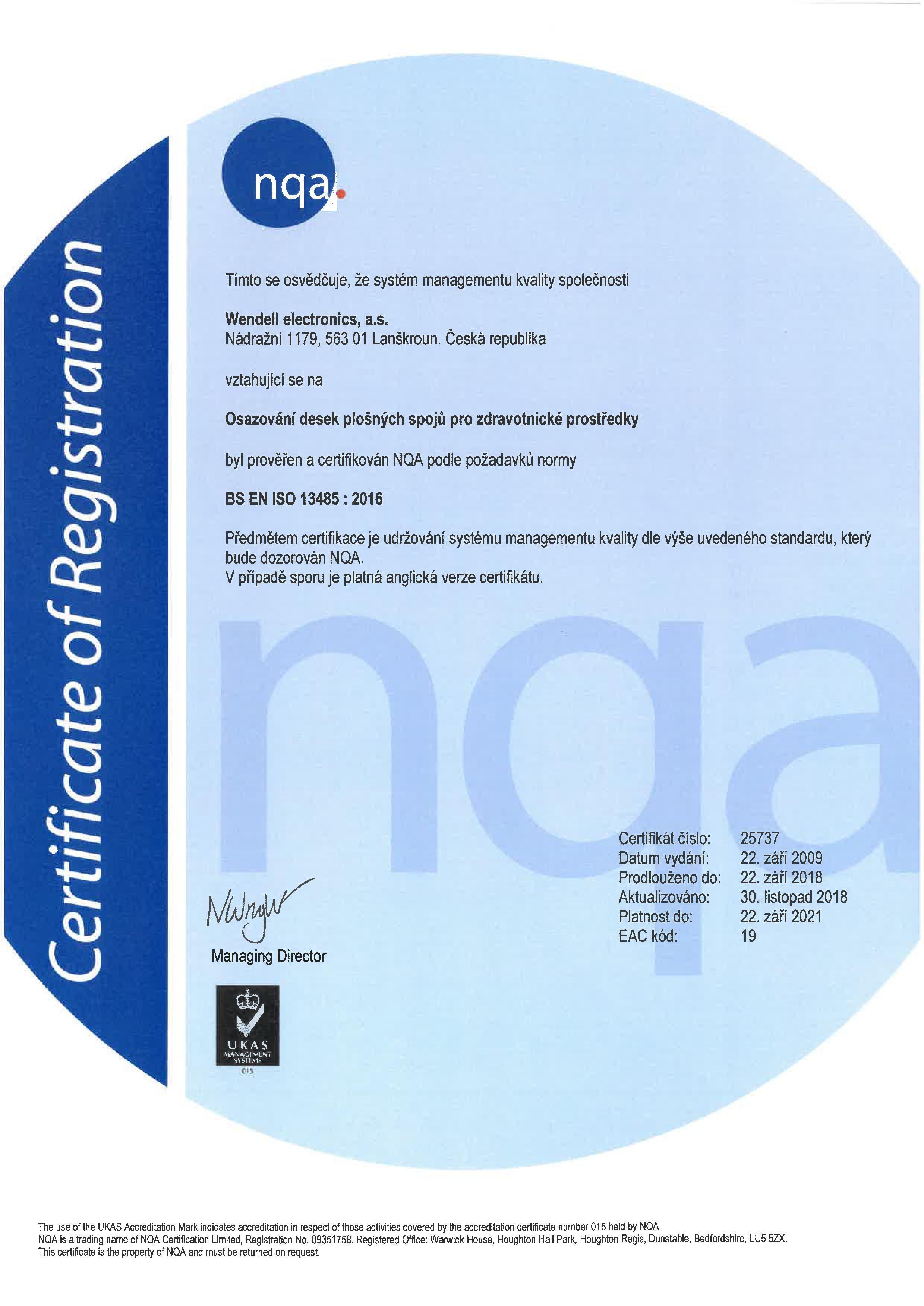 Certificate medical